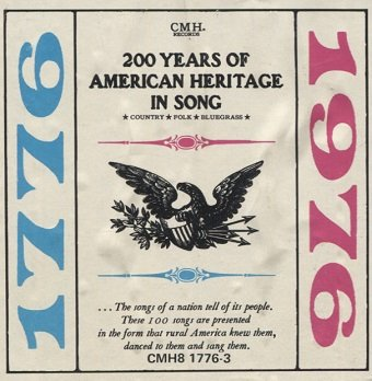 200 Years Of American Heritage In Song: Country, Folk, Bluegrass (5LP)
