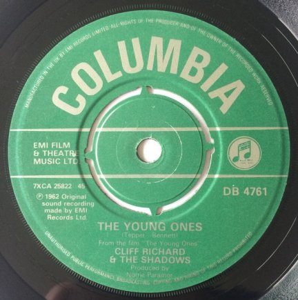 Cliff Richard & The Shadows - The Young Ones (7)
