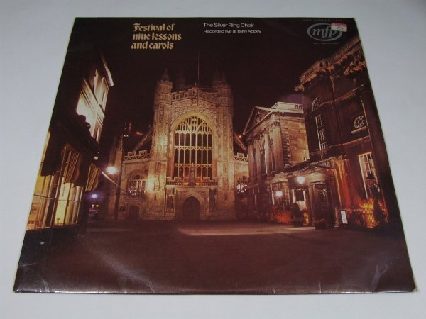 The Silver Ring Choir - Festival of Nine Lessons and Carols (LP)