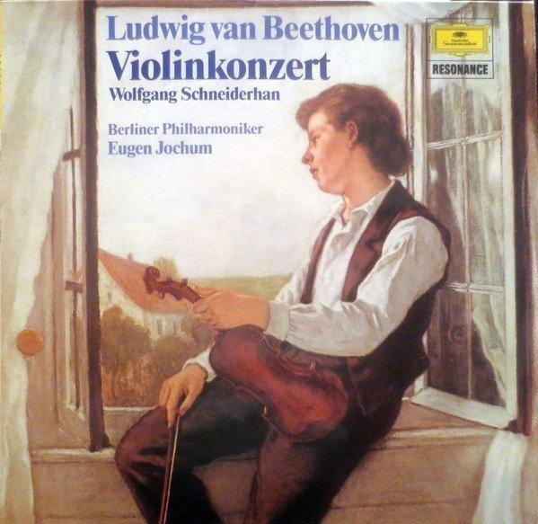 Ludwig Van Beethoven - Wolfgang Schneiderhan, Berliner Philharmoniker, Eugen Jochum - Violinkonzert (LP)