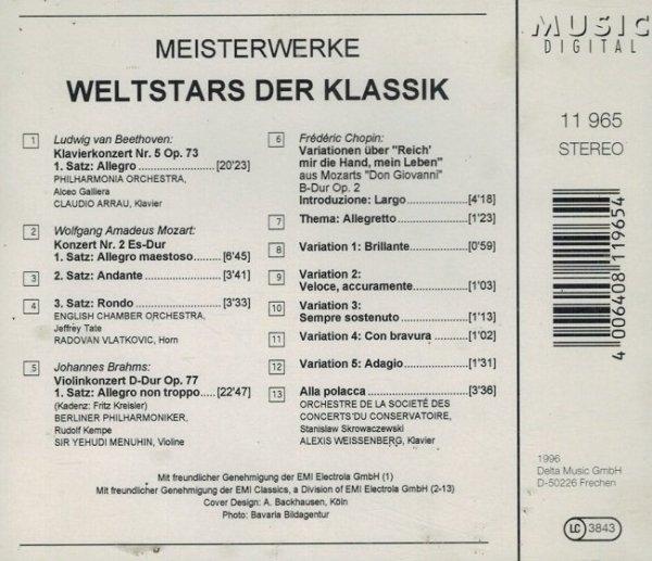 Meisterwerke - Weltstars Der Klassik (CD)