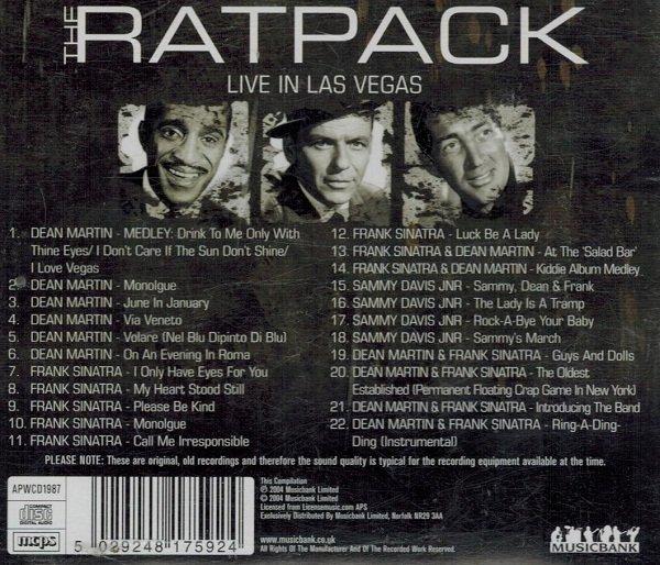 The Ratpack - Live In Las Vegas (CD)