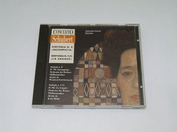 Schubert - Sinfonia N. 8 Incompiuta, Sinfonia N. 9 La Grande (CD)