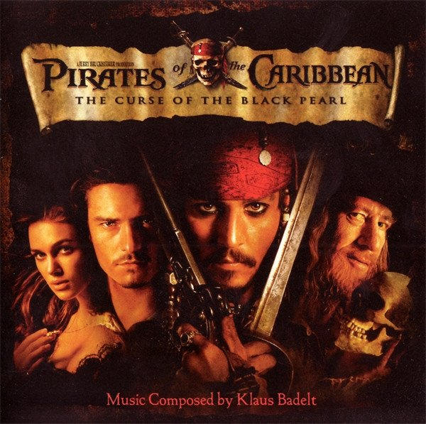 Klaus Badelt - Pirates Of The Caribbean 'The Curse Of The Black Pearl' (CD)