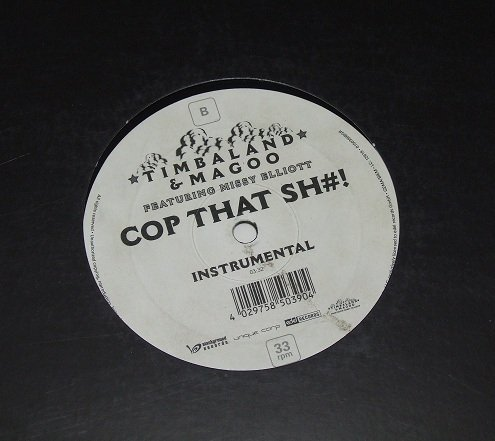 Timbaland & Magoo feat. Missy Elliott - Cop That Sh#! (12'')