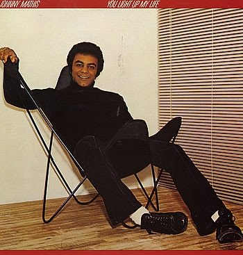 Johnny Mathis - You Light Up My Life (LP)