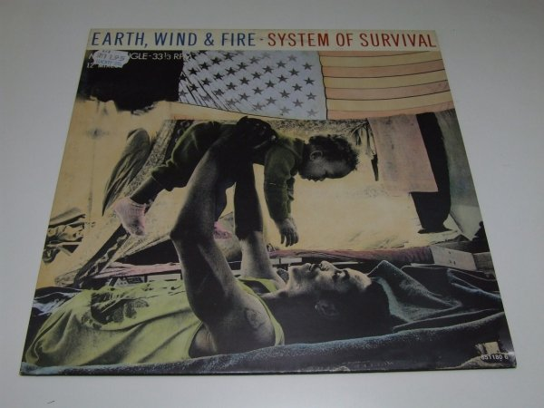 Earth, Wind & Fire - System Of Survival (12'')