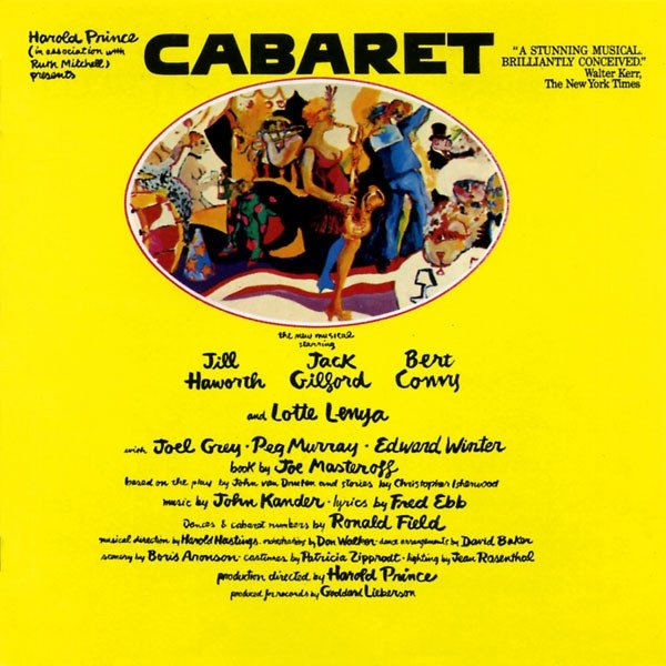 Harold Prince (In Association With) Ruth Mitchell - Cabaret (Original Broadway Cast Recording) (CD)