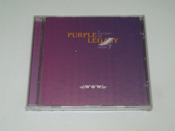 Purple Legacy (A History Of Purple WOW) (CD)