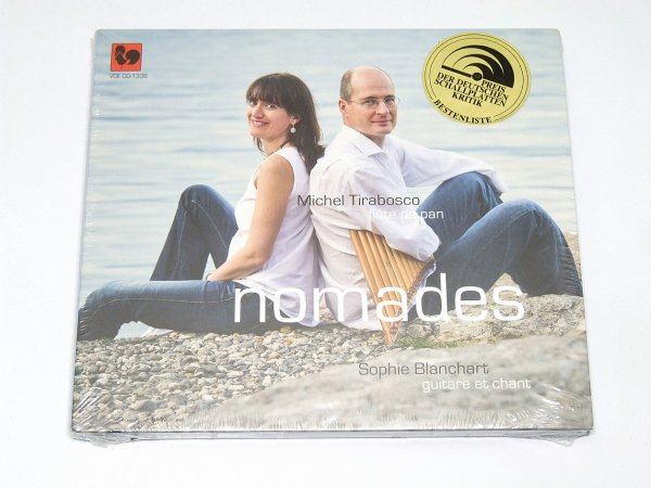 Nomades - Michel Trabosco, Sophie Blanchart (CD)