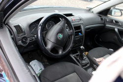 Konsola airbag pasy Skoda Octavia 1Z 2007 Kombi