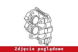 Zacisk hamulcowy przód lewy Hyundai Getz TB 2003 1.3i  3D