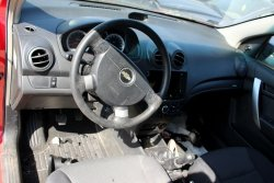 Konsola airbag pasy sensor Chevrolet Aveo T250 2009