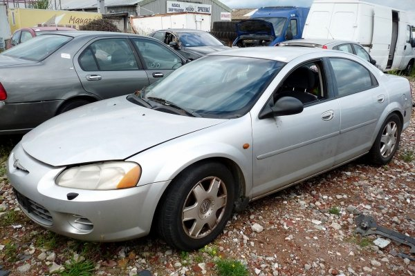 Drzwi tył lewe Chrysler Sebring 2002 2.0i Sedan (kod lakieru: PS2)