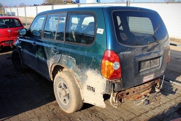 Drzwi tył prawe Hyundai Terracan 2001 (Kod lakieru: BY)