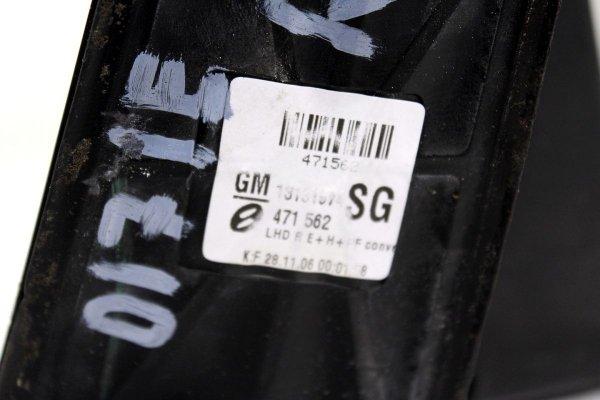 Lusterko prawe Opel Zafira B 2007 Kombi (7 pinów, lakier 3KU)
