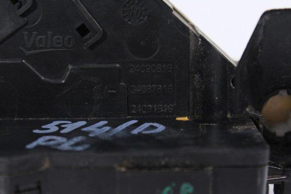 Zamek drzwi przód lewy Citroen C4 Picasso 2010 (4-pin)