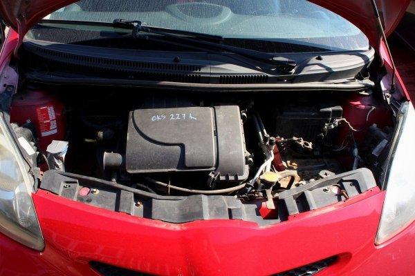 Pas przód przedni Toyota Aygo 2005 Hatchback 5-drzwi (kod lakieru: 3P0)