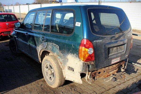 Lusterko prawe Hyundai Terracan 2001 (Kod lakieru: BY)