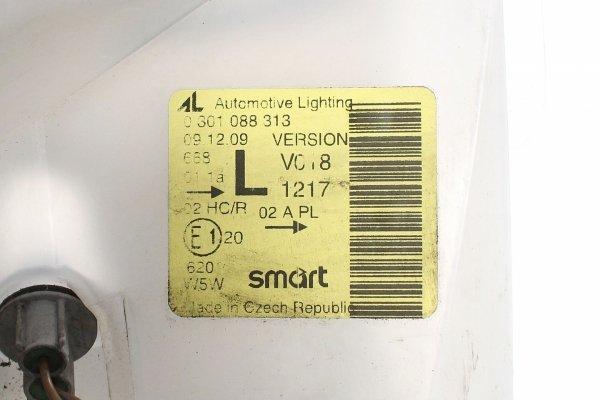Reflektor lewy - Smart - Fortwo - zdjęcie 7