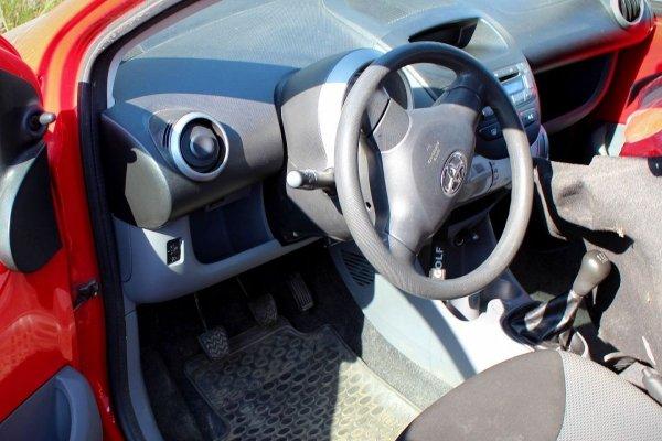 Drzwi przód przednie prawe Toyota Aygo 2005 Hatchback 5-drzwi (kod lakieru: 3P0)