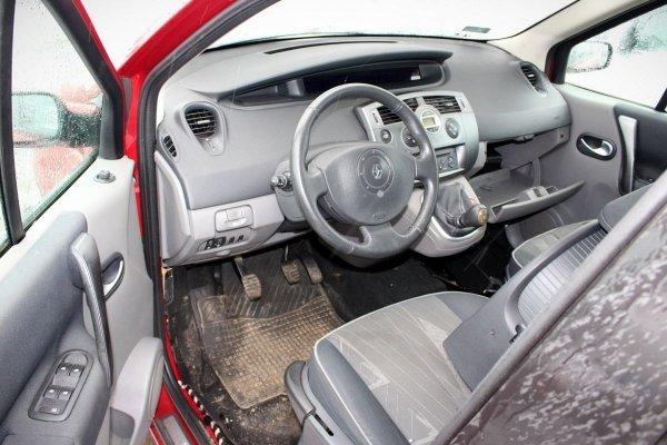 Zderzak tył Renault Scenic II 2004 (Kod lakieru: TEB76)