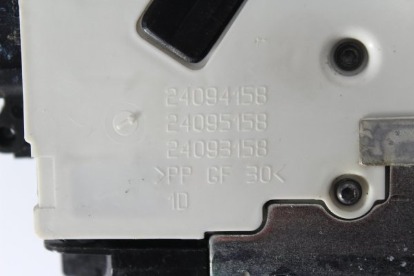 Zamek drzwi przód prawy Citroen C4 Picasso 2010 (4-pin)