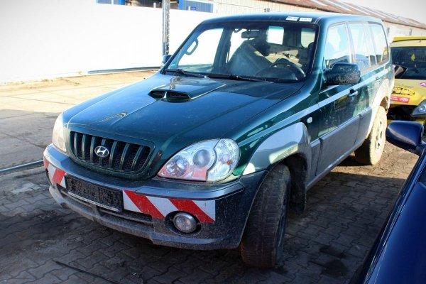 Podnośnik szyby przód lewy Hyundai Terracan 2001