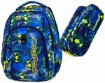 CoolPack PLECAK STRIKE L Football blue B18037 Saszetka 2w1