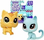 LPS FIGURKA ZWIERZAKI Littlest Pet Shop FLUFFY I KITTY Hasbro