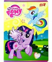My Little Pony Zeszyt 16 Kartkowy w Kratkę