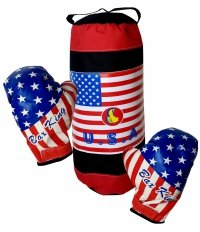 WOREK Bokserski USA Treningowy DZIECIĘCY Rękawice