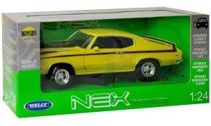 S BUICK GSMTM 1970 Auto METALOWY MODEL Welly 1:24