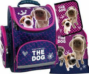 TORNISTER The Dog + PIÓRNIK WOREK Plecak 3w1