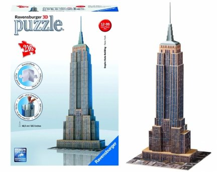 Empire State Building Puzzle 3D 216 Ravensburger