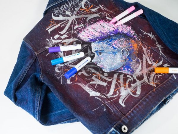 Kreatywny Marker PINTOR rozm.F Pastelowy Niebieski  Pilot