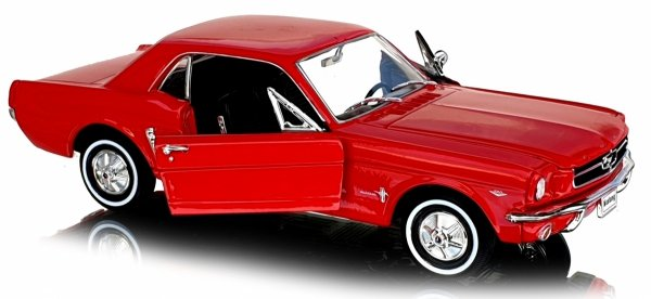1964 FORD MUSTANG COUPE Auto Metal Welly 1:24