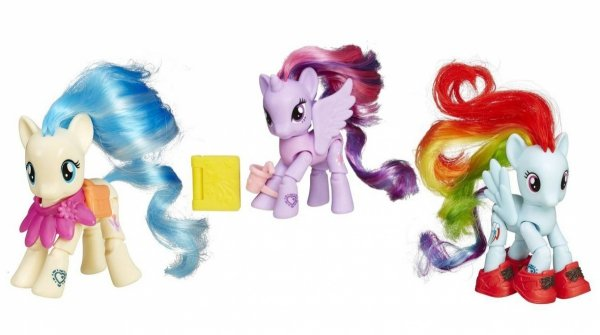 My Little Pony KUCYK 3w1 RAINBOW CHEERILEE TWILIGHT