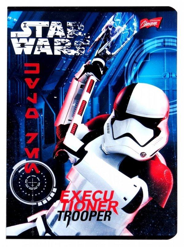 STAR WARS Zeszyt 32 Kartkowy w KRATKĘ