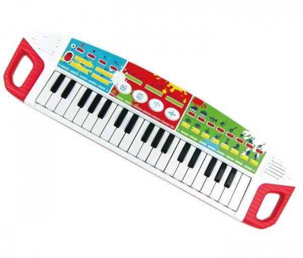 SZALONE Klawisze PIANINKO Dźwięk Smily Play 2509