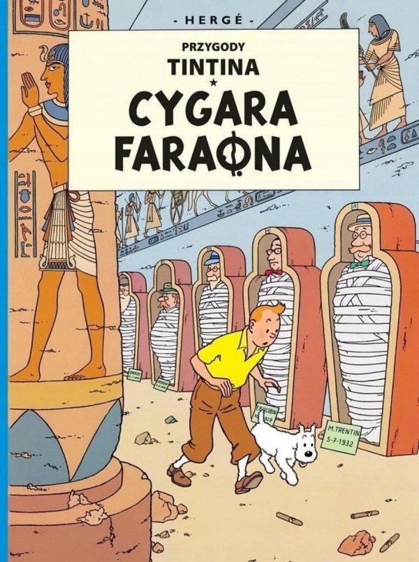 Komiks PRZYGODY TINTINA Tom 4 CYGARA FARAONA Herge