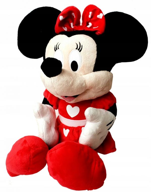 Wielka Pluszowa MYSZKA MINNIE Maskotka Disney 80 cm