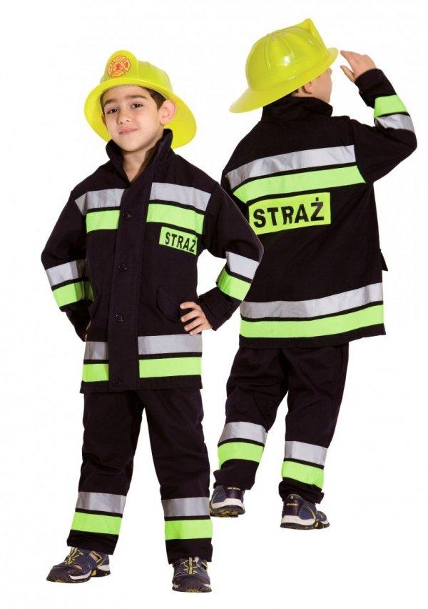 STRAŻAK POLSKI Straż Pożarna STRÓJ Karnawałowy 128