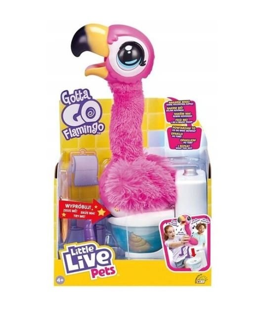 Interaktywny FLAMING Little Live Pets  POWTARZA Mówi Cobi