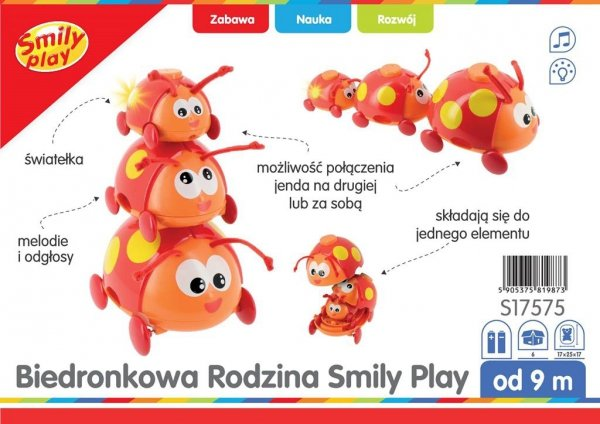 Biedronkowa RODZINKA 3w1 Smily Play S17575