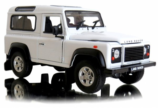 LAND ROVER AUTO Model Welly METALOWY 1:34
