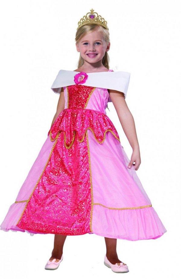 KSIĘŻNICZKA Strój na Bal 128 KRÓLEWNA Barbie