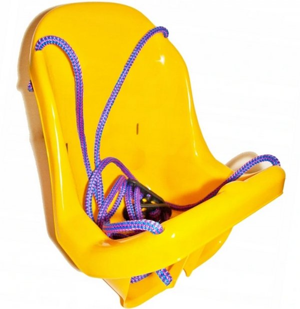 DUŻA HUŚTAWKA dla Dzieci Kubełkowa Krzesełko + Pasy