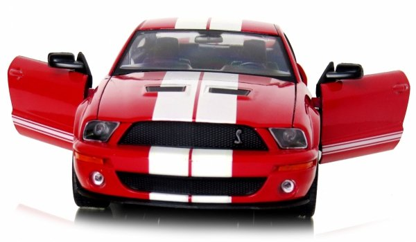 2007 SHELBY COBRA GT500 Auto Metal Welly 1:24