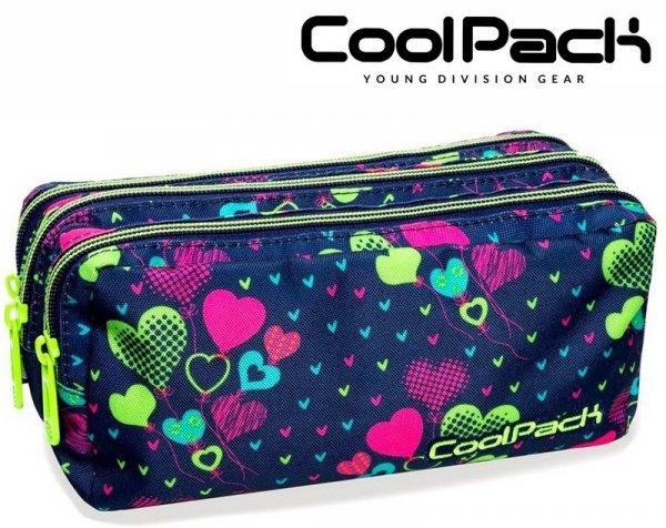 Coolpack SASZETKA Primus LIME HEARTS 3 kom. B60010
